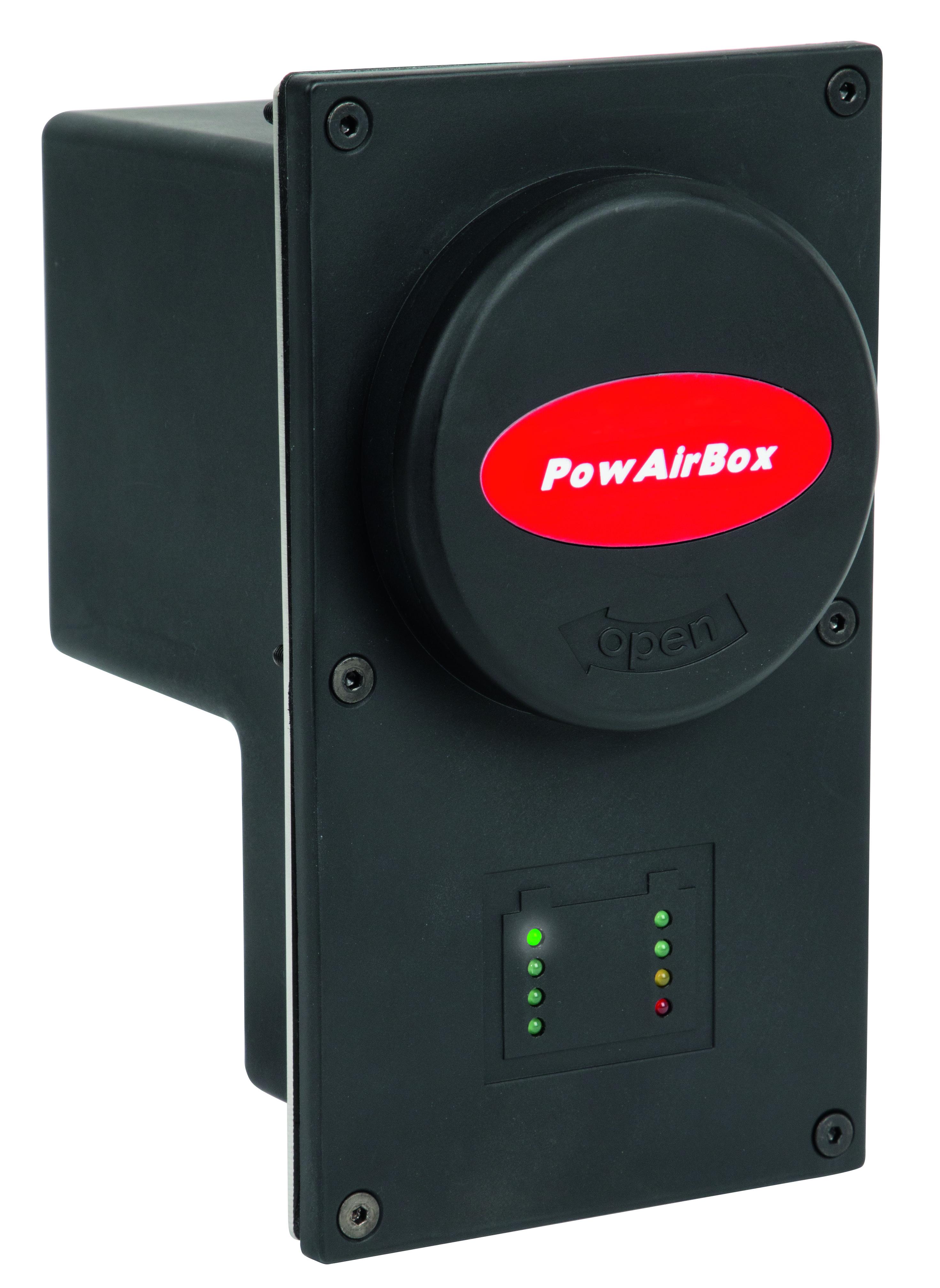 PowAirBox A Einspeisung 230 V mit Druckluft Image