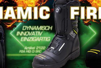 Jetzt informieren: EWS Dynamic Fire – Feuerwehrstiefel