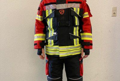 Neue Schutzbekleidung für die Feuerwehr Großenaspe