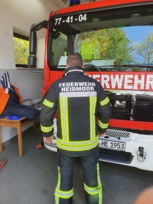 seamTEX Schutzbekleidung für die Feuerwehr Heidmoor